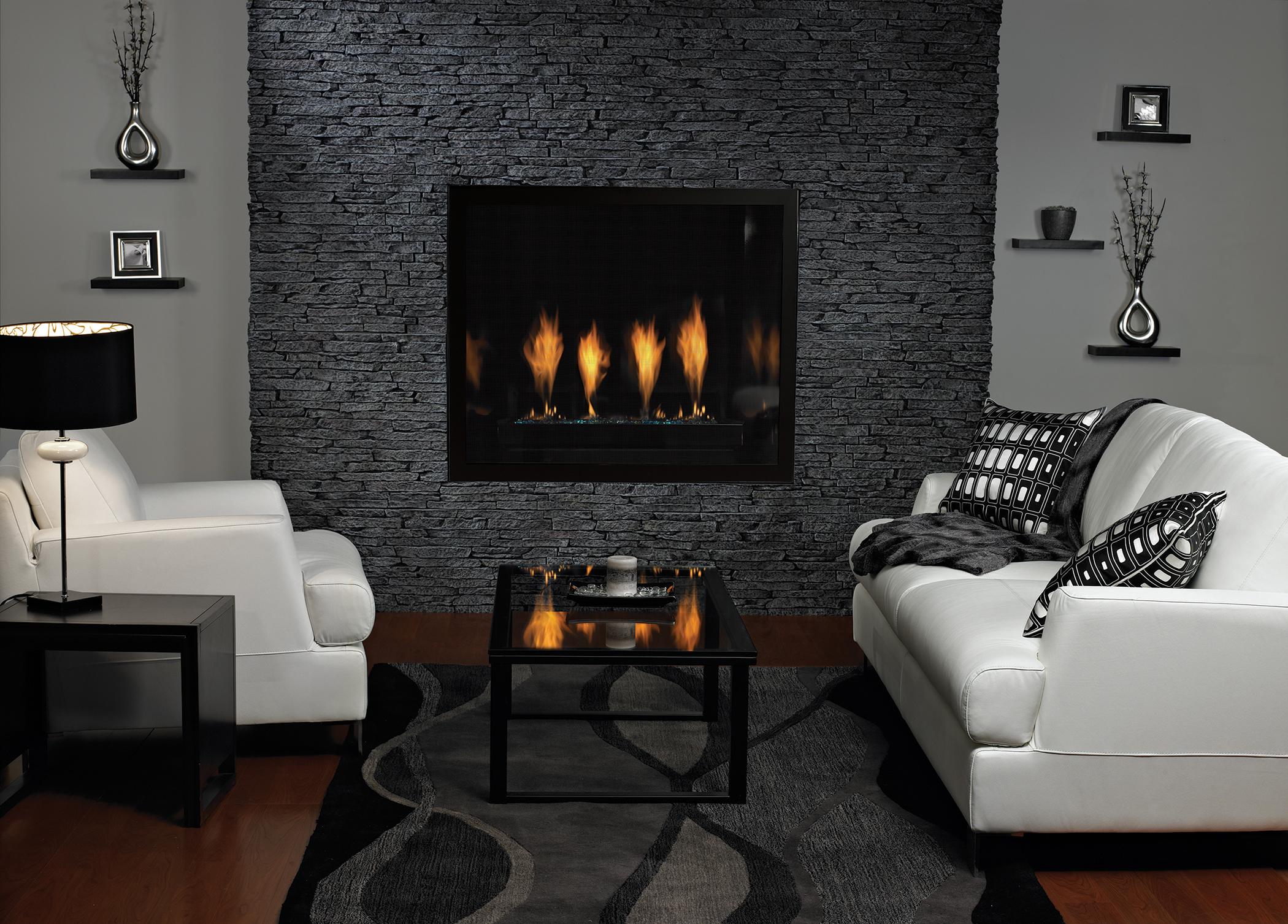 contemporary by comfort linear fireplace empire systems watch boulevard youtube
